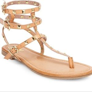 Mossimo Supply Co. Shoes - Mossimo Gertie Studded Gladiator Sandal